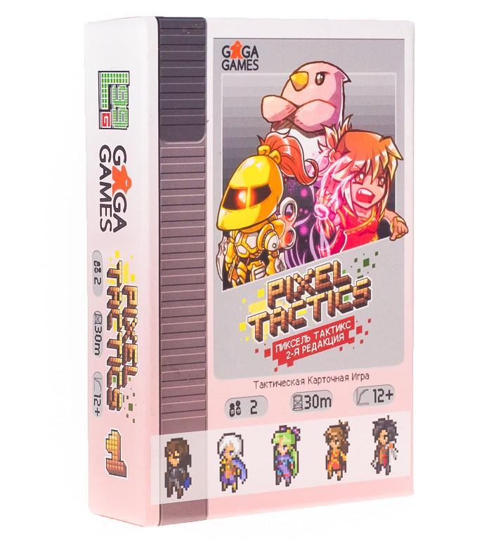 Настольная Игра GaGa Пиксель Тактикс (Pixel Tactics) (4627093190126)