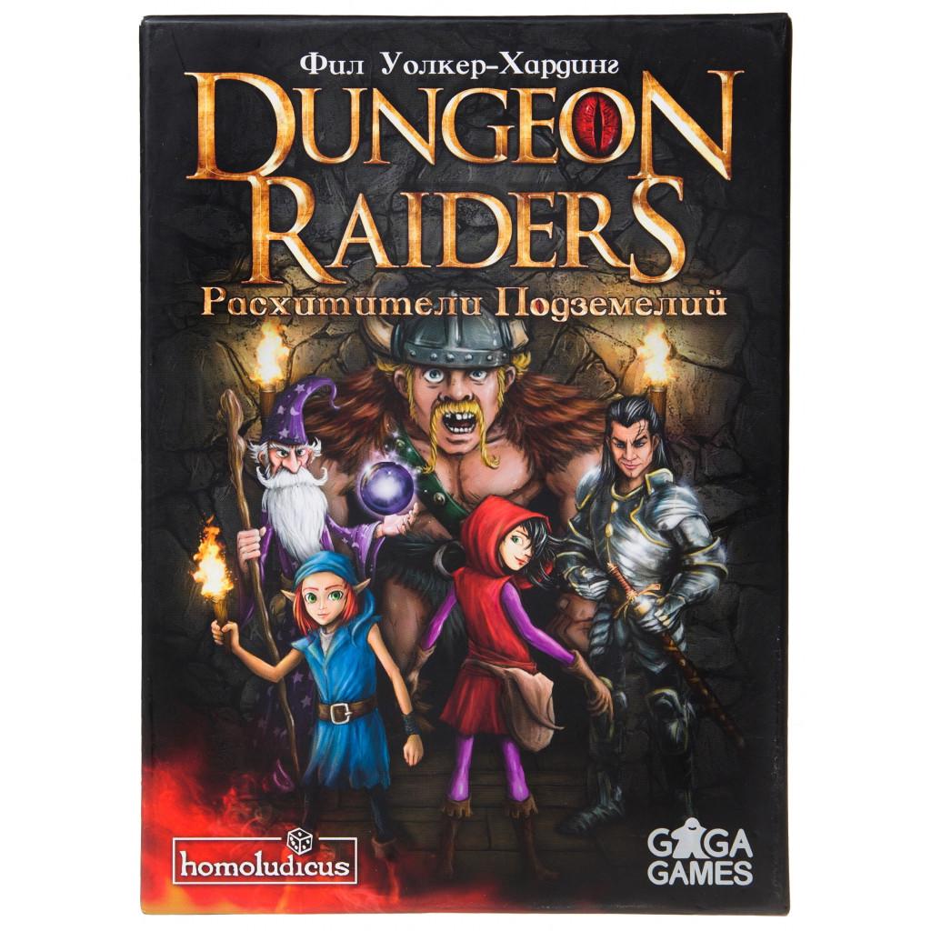 Настольная Игра GaGa Расхитители Подземелий (Dungeon Raiders) (4627093190102)