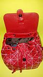 Рюкзак женский красный, фото 4