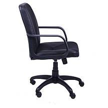 Кресло Лига Пластик Неаполь N-20 вставка Сетка черная, фото 3