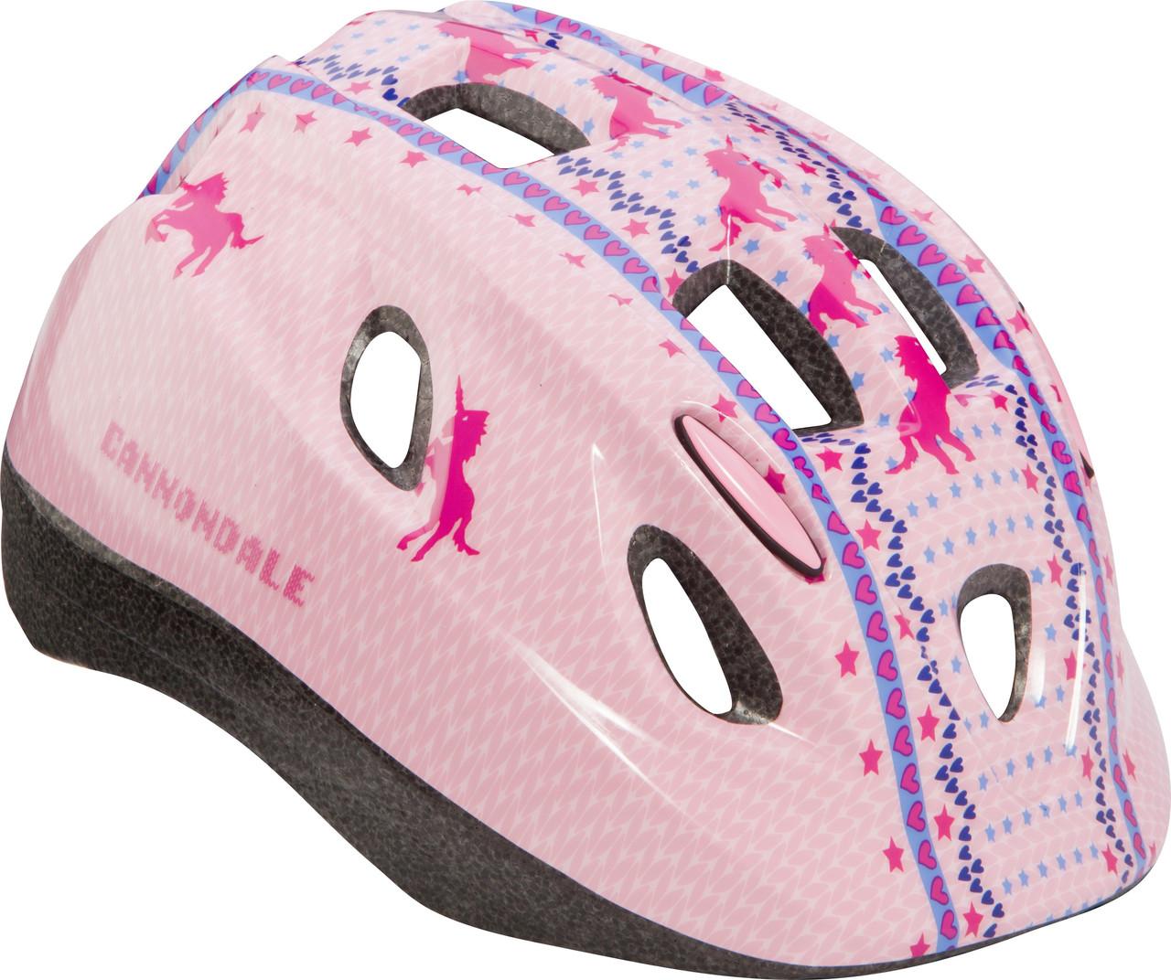 Шлем детский Cannondale QUICK UNICORN размер S 52-57см PNK