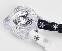 Камифубики- снежинки серебряные