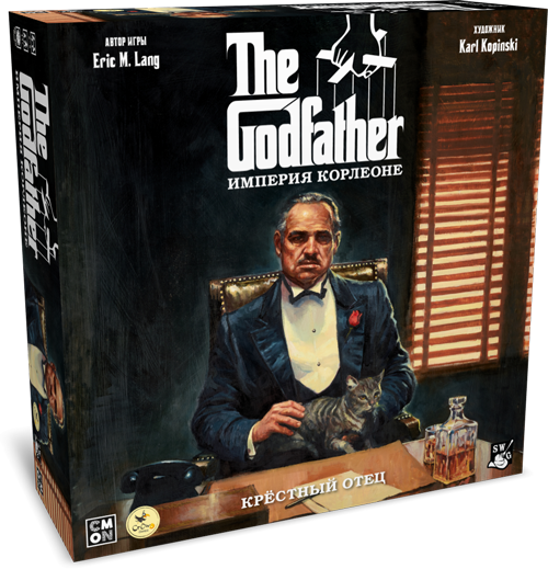 Настольная игра Crowd Games Крестный Отец. Империя Корлеоне (4627119440211)