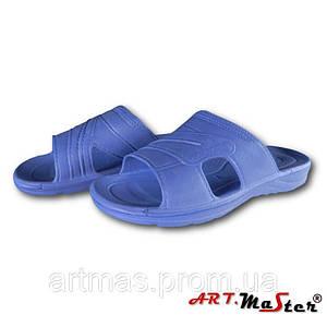 Тапочки для ванны ARTMAS синего цвета Klapki SPORT