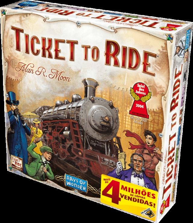 Настольная игра Days of Wonder Ticket to Ride (824968717912)