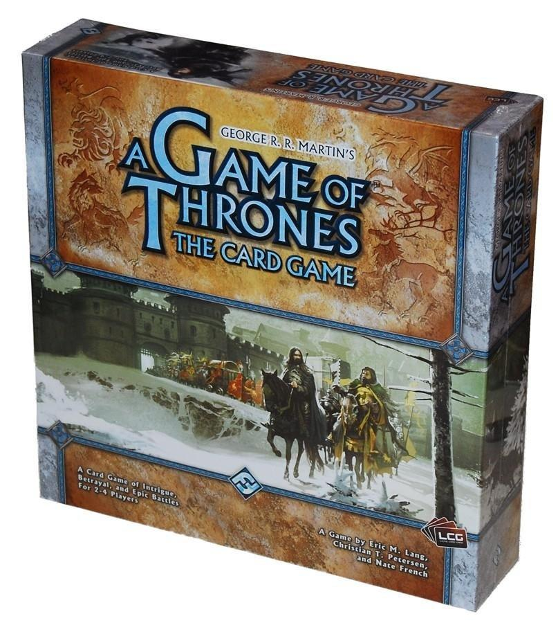 Настольная Игра Fantasy Flight Games A Game of Thrones: The Card Game Core Set (9781589944206)