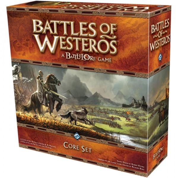 Настольная Игра Fantasy Flight Games Battlelore: Battles Of Westeros Core Set (9781589946934)