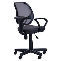 Кресло Чат/АМФ-4 сиденье А-14/спинка Сетка серая, фото 3