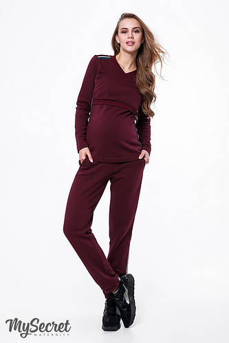 25b2e33f8089837 Теплый трендовый костюмчик для беременных и кормящих мам LEE : продажа,  цена в Днепре. брюки, джинсы и лосины для беременных от