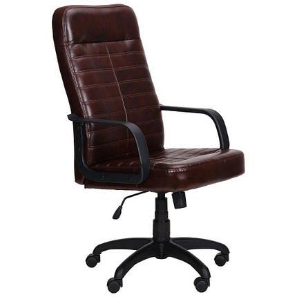 Кресло Ледли Пластик Мадрас дк браун, фото 2