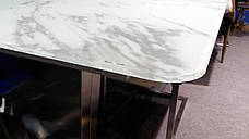 Стол обеденный раскладной  в стиле модерн Presto (Престо) HT 6570C-GN Евродом, фото 3