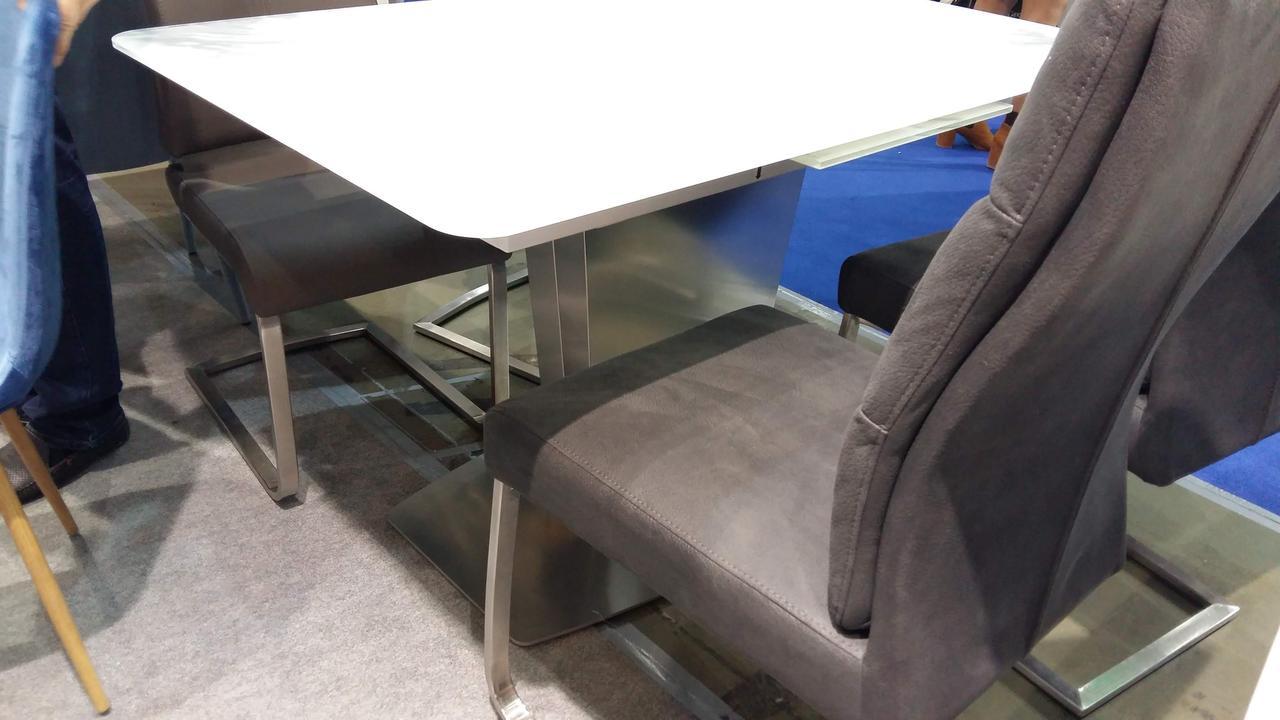 Стол обеденный раскладной  в стиле модерн Presto (Престо) HT 6570C-GN Евродом