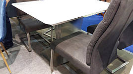 Стол обеденный раскладной  в стиле модерн Presto (Престо) HT 6570C-GN  Evrodim