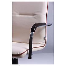 Кресло Самба-RC Хром орех Неаполь N-17 с кантом, фото 3