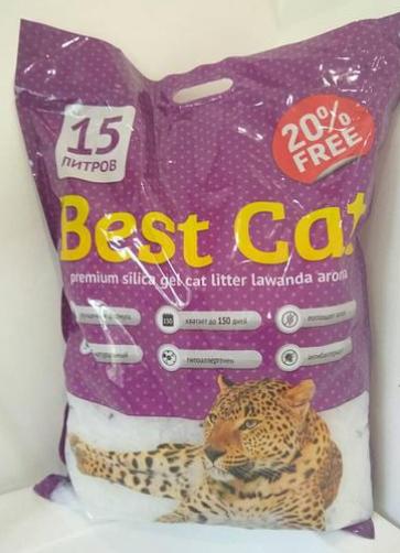Силикагель Best Cat 15л