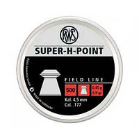 "Пульки RWS ""Super H-Point"" 0.45гр. (500шт.)"