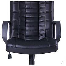 Кресло Парис Пластик Кожа Люкс комбинированная Черная, фото 3