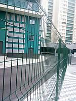 Забор 3D сварной сетка со столбами и крепежом панельный Техна 4/3мм 2030 х 2500