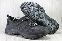 Мужские демисезонные черные кроссовки на мембране в стиле Merrell(мэрэл)