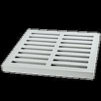 Решетка дождеприемника 300х300 серая класса нагрузки А15 ПВХ ZMM MAXPOL, фото 1