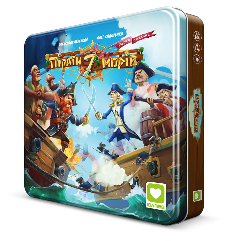 Настольная Игра IGames Пірати 7 Морів (4820166180066)