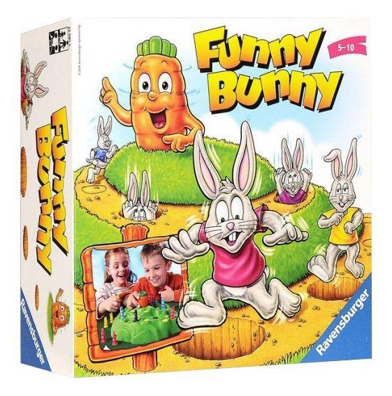 Настольная Игра Ravensburger Funny Bunny (220816)
