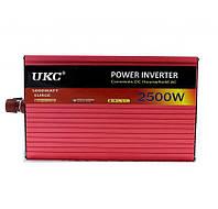 Инвертор преобразователь 2500W AR AC/DC 12V
