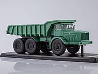 Автомодель Start Scale Models Советский самосвал МАЗ-530 40 тонн Зеленый (SSML011)
