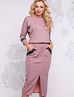 Женское облегающее платье-миди из ангоры (2933-2936-2935-2934-2932 svt)