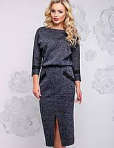 Женское облегающее платье-миди из ангоры (2933-2936-2935-2934-2932 svt), фото 3