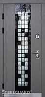 Двери входные металлические Manhattan Grey Light серия MAXIMA, фото 1