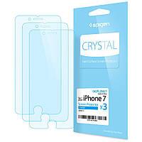 Защитная пленка Spigen для iPhone 8 / 7 (1шт) + бесплатная поклейка