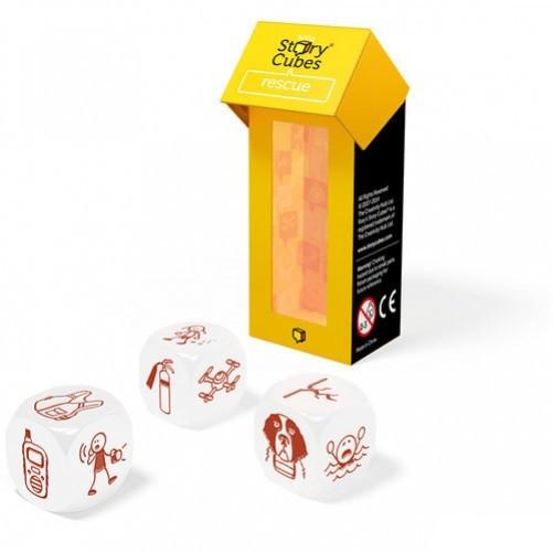 """Настольная Игра The Creativity Hub Кубики Историй Rory's Story Cubes """"Спасение"""" (91037843692)"""