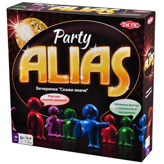 Настольная Игра Tactic Пати Alias (53365)