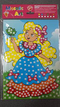 Харьков Раскраска-мозаика (2 шт. в наборе)/принцессы