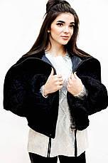 Куртка женская черная Италия, фото 2