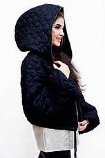 Куртка женская черная Италия, фото 3