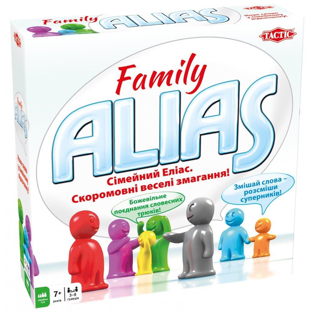 Настольная игра Tactic Family Alias (54336)