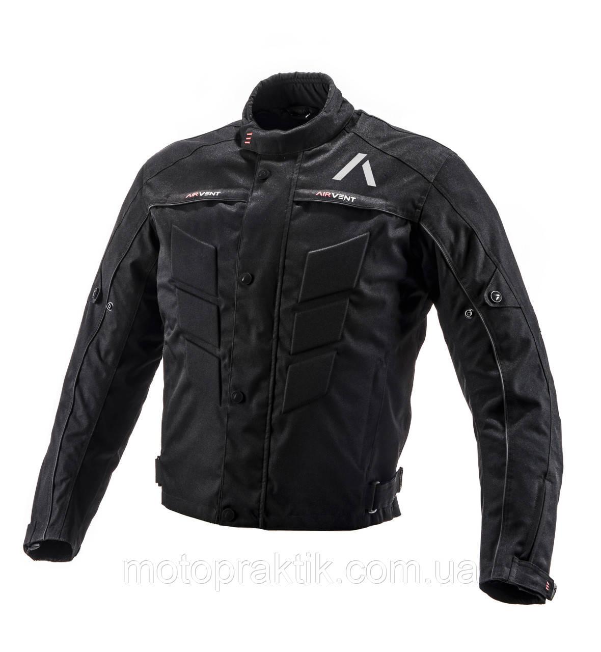 Adrenaline Pyramid 2.0 Jacket Black, XS Мотокуртка текстильная с защитой