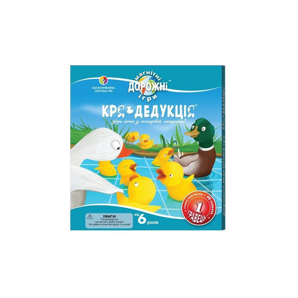 Дорожная магнитная игра Smart Games Кря-дедукция (SGT 270 UKR)