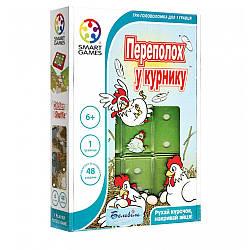 Игра настольная Smart Games Переполох в курятнике (SG 436 UKR) (5414301521099)