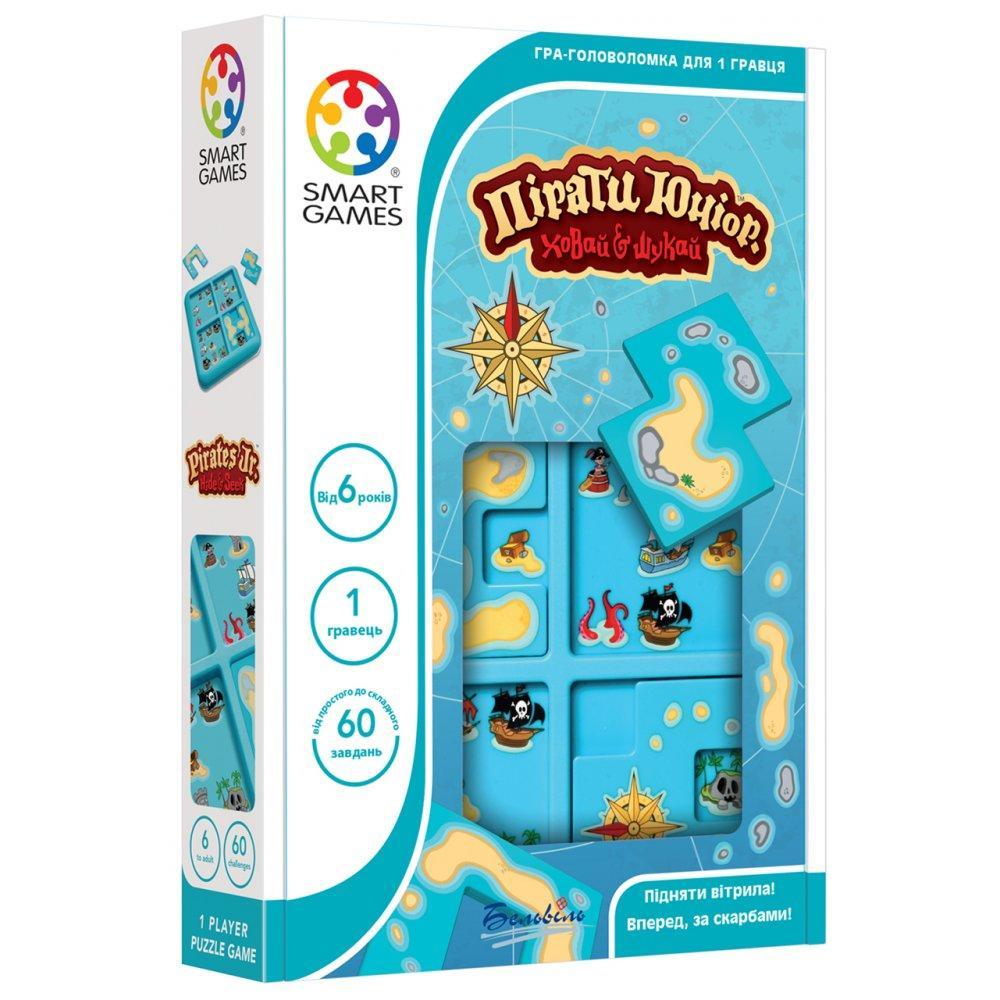 Настольная игра Smart Games Пираты Юниор. Прячь и ищи (SG 432 UKR)