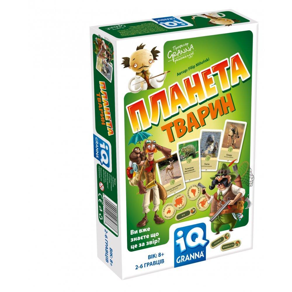 Настольная игра Granna Планета животных (82777)