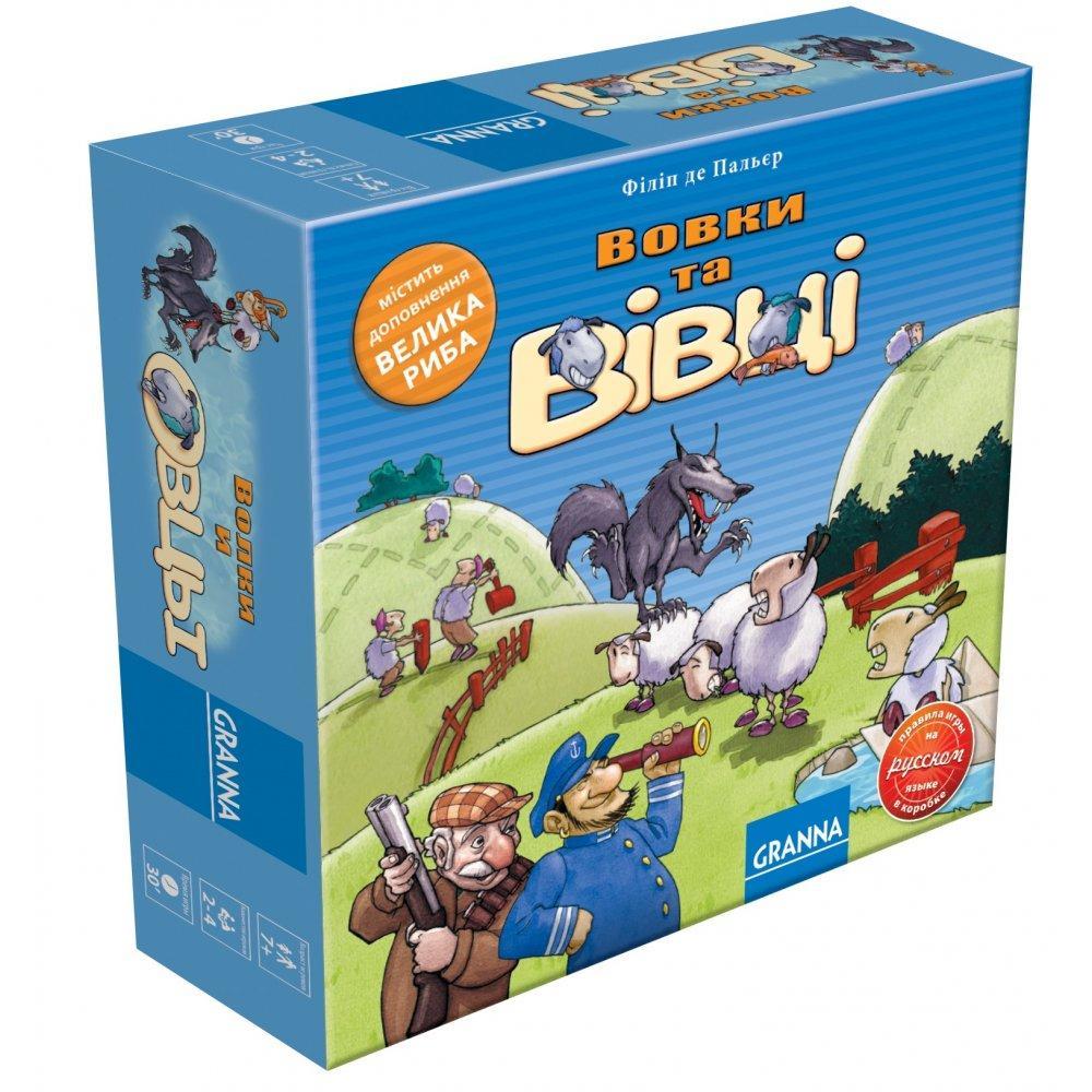 Настольная игра Granna Волки и овцы (82005)