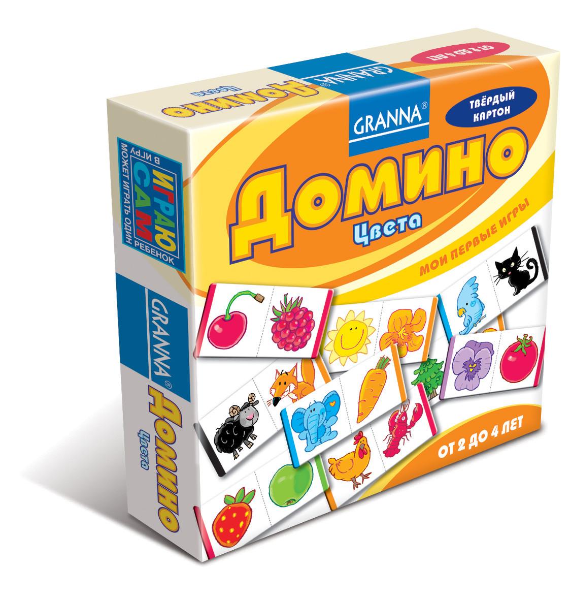 Настольная игра Granna Домино Цвета (10688)