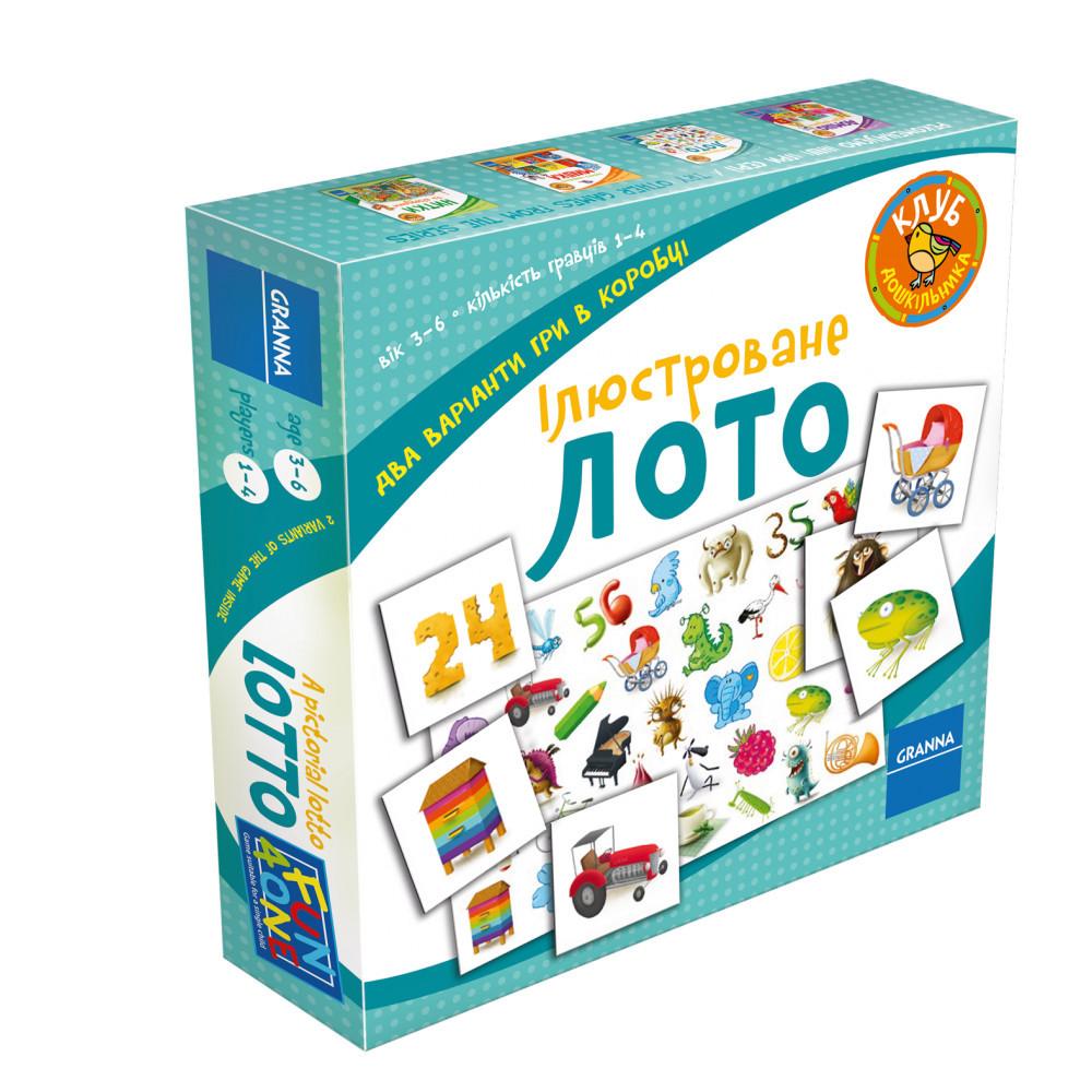 Настольная игра Granna Иллюстрированное лото (82517)