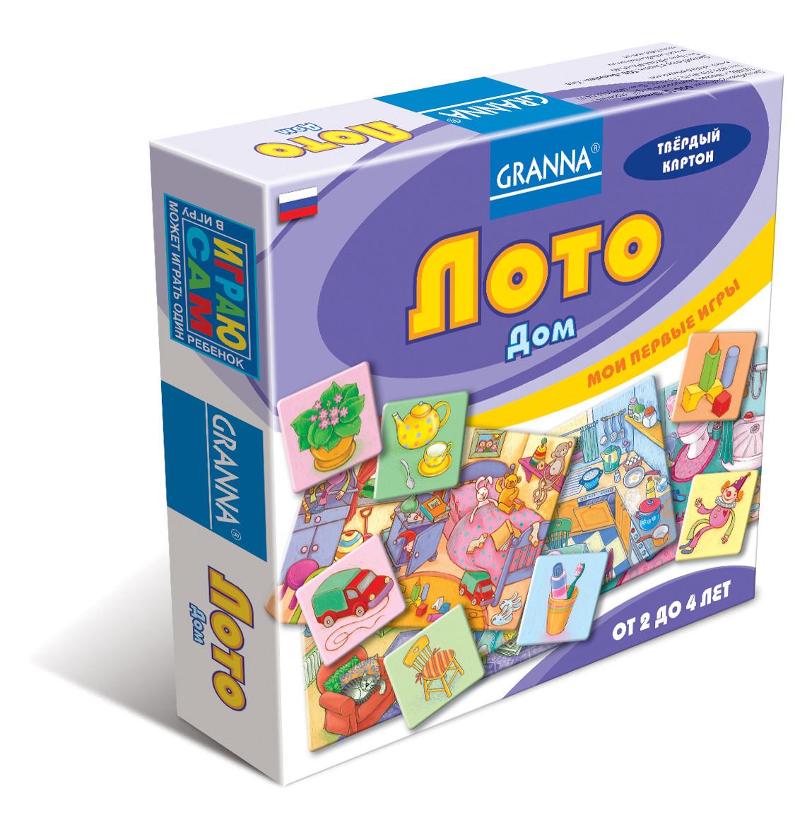 Настольная игра Granna Лото Дом (10695)