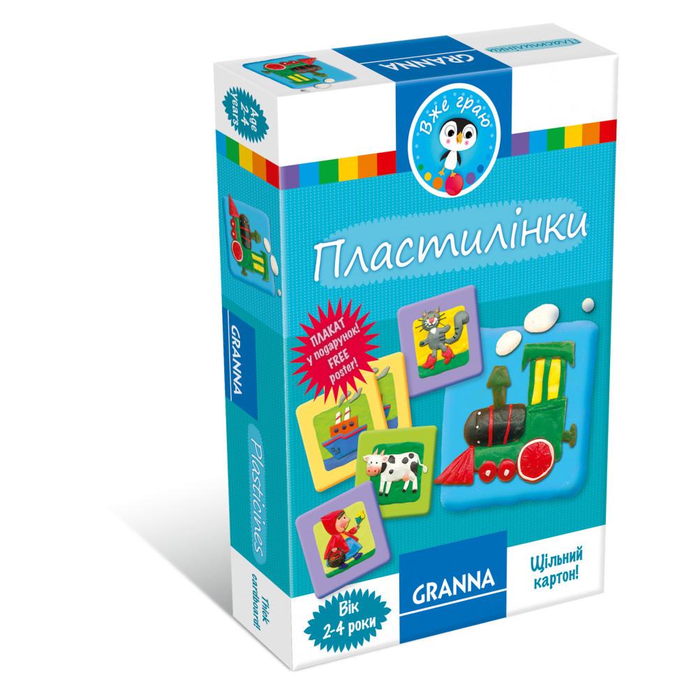 Настольная игра Granna Пластилинки (82661)