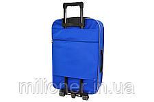 Чемодан Siker Lux (средний) синий, фото 2