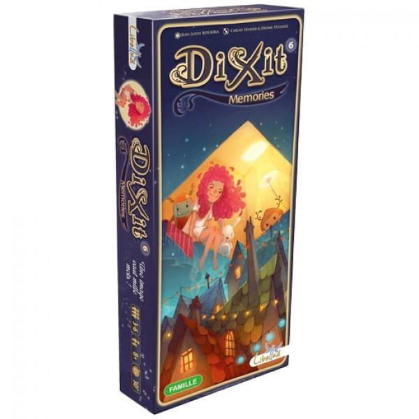 Настольная игра Libellud Диксит 6: Воспоминания (Dixit 6: Memories) (3558380031369)